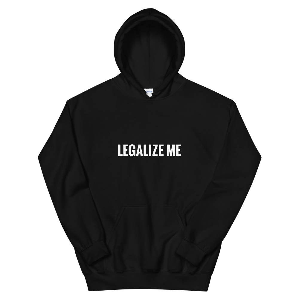 LEGALIZE ME Unisex Hoodie *Charity* Black