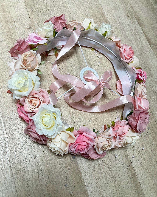 Image of Lustre fleuri 35cm max