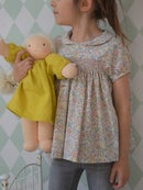 Image 1 of blouse liberty félicite beige et smocks