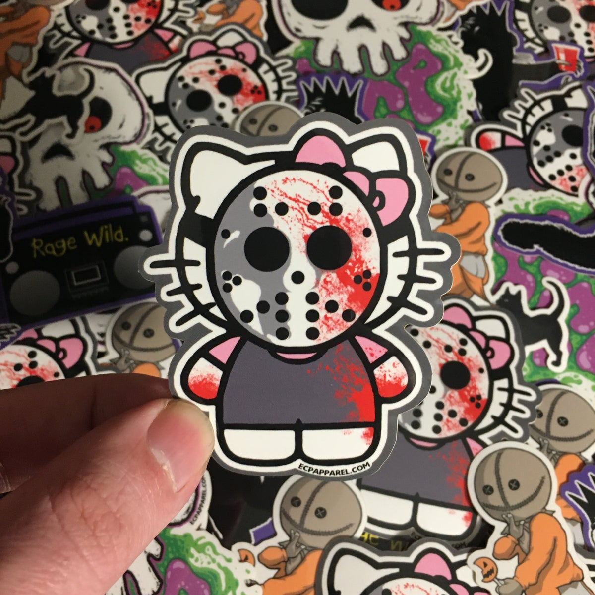 """Hello Killer""- Die-Cut Sticker"