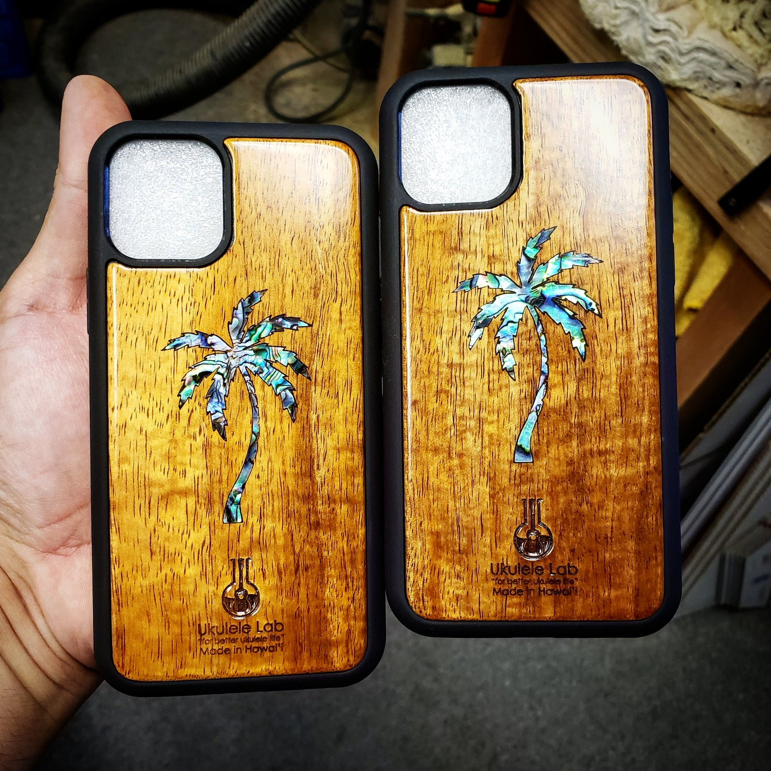 Image of iPhone 11 Series Koa Case