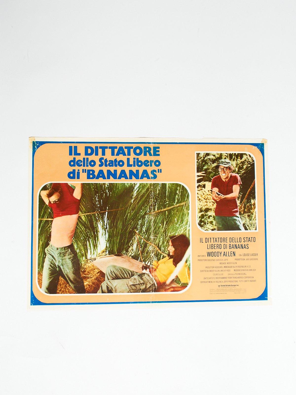 """IL DITTATORE DELLO STATO LIBERO DI """"BANANAS"""" LOBBY CARD"""