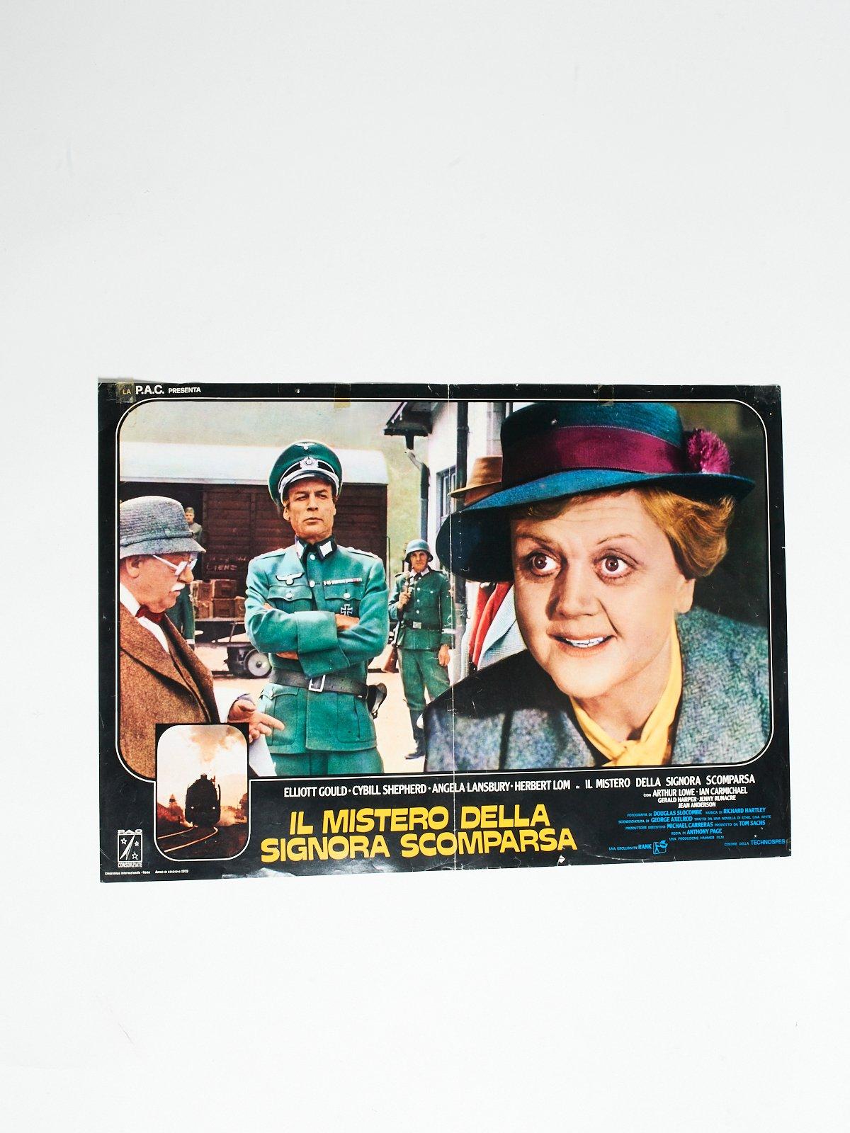 IL MISTERO DELLA SIGNORA SCOMPARSA LOBBY CARD