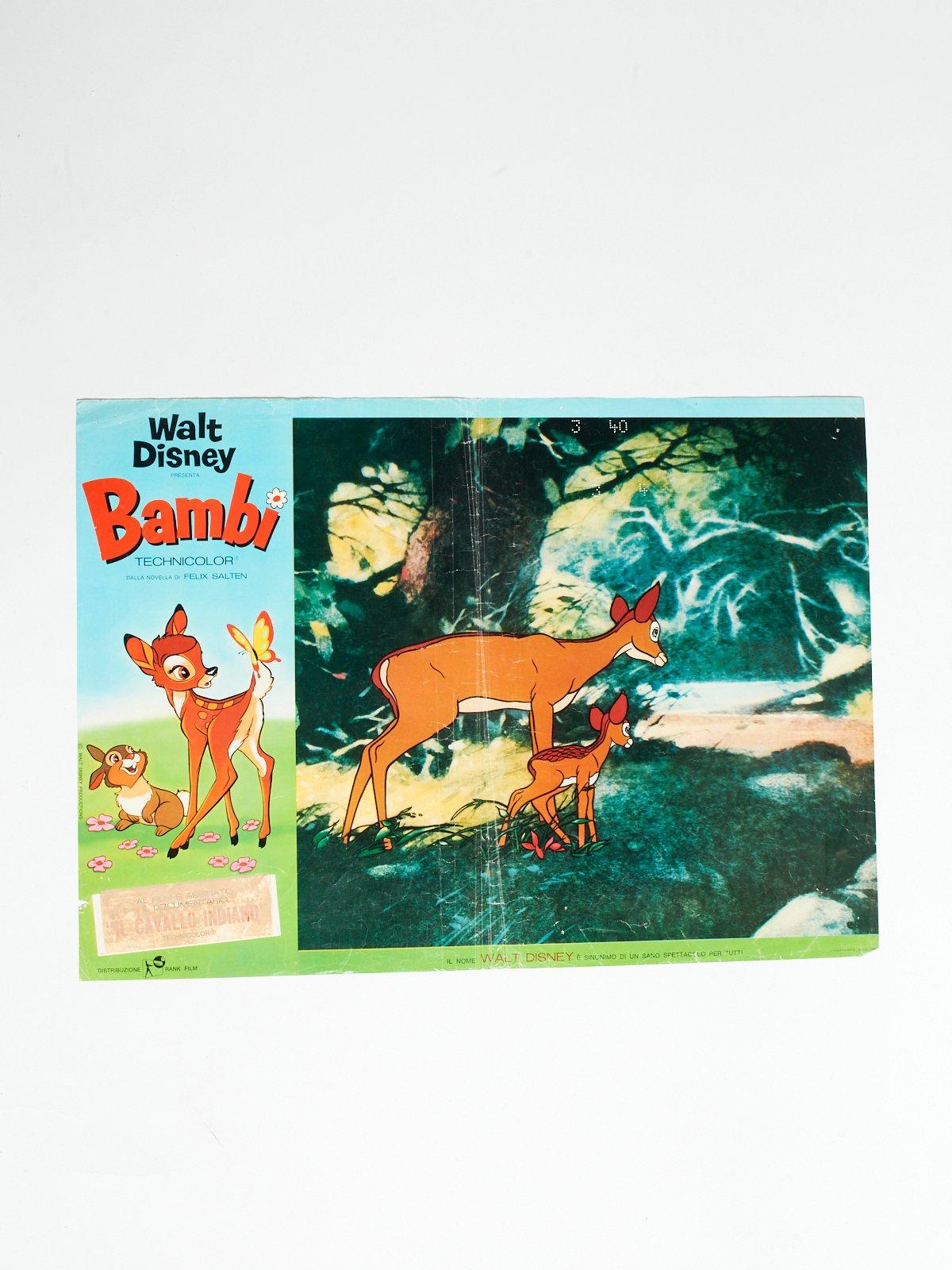 BAMBI LOBBY CARD