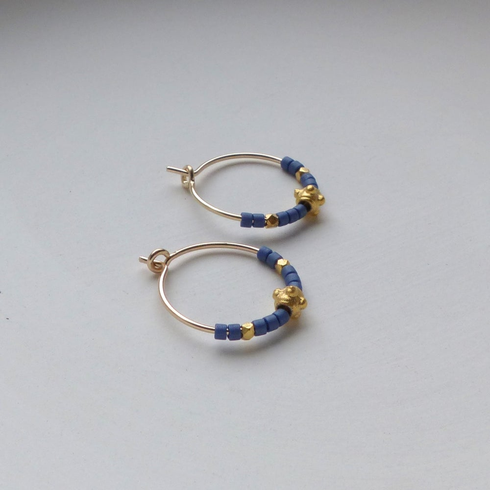 Image of Petite Moroccan Hoops
