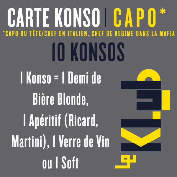CARTE KONSO I CAPO