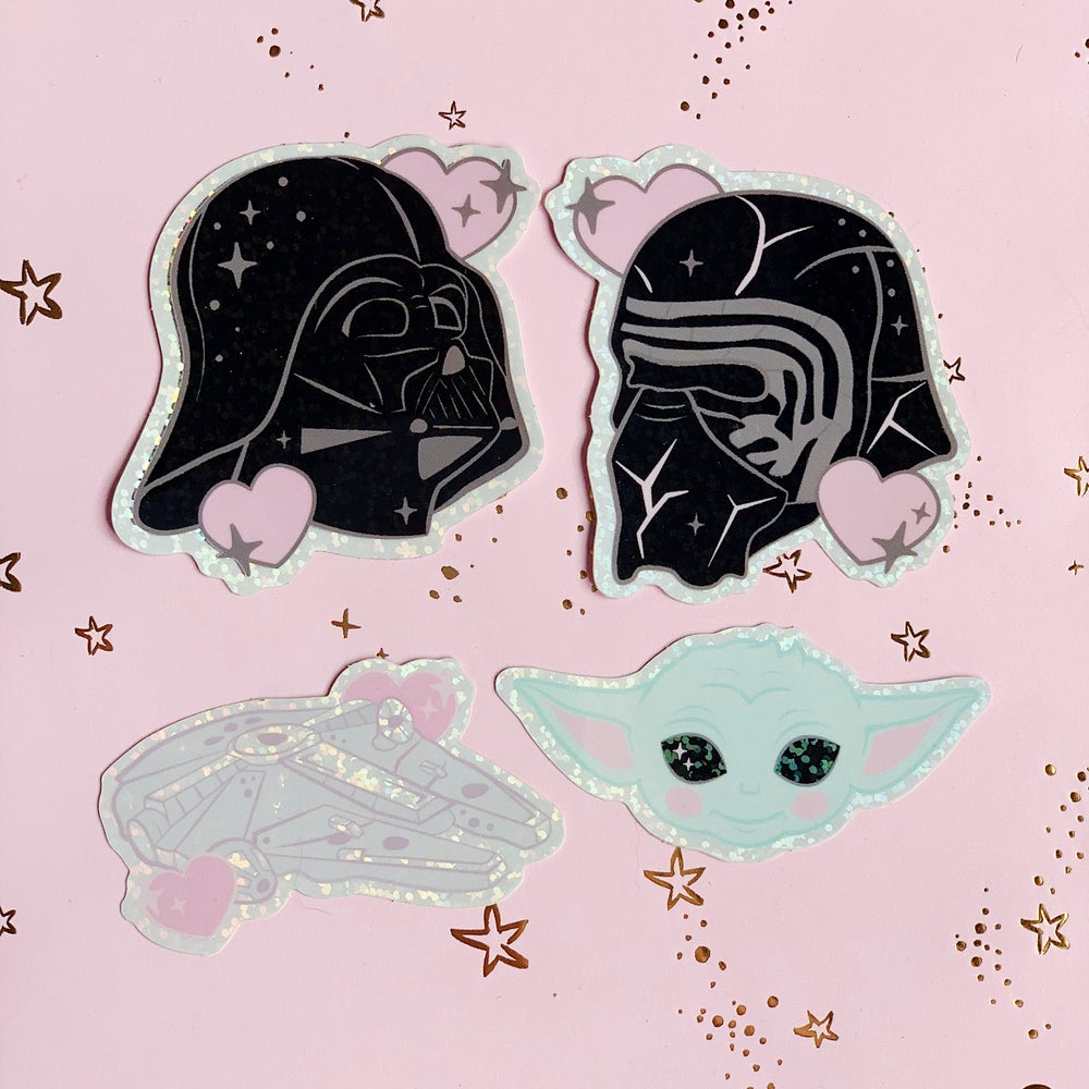 Image of Glitter Stickers