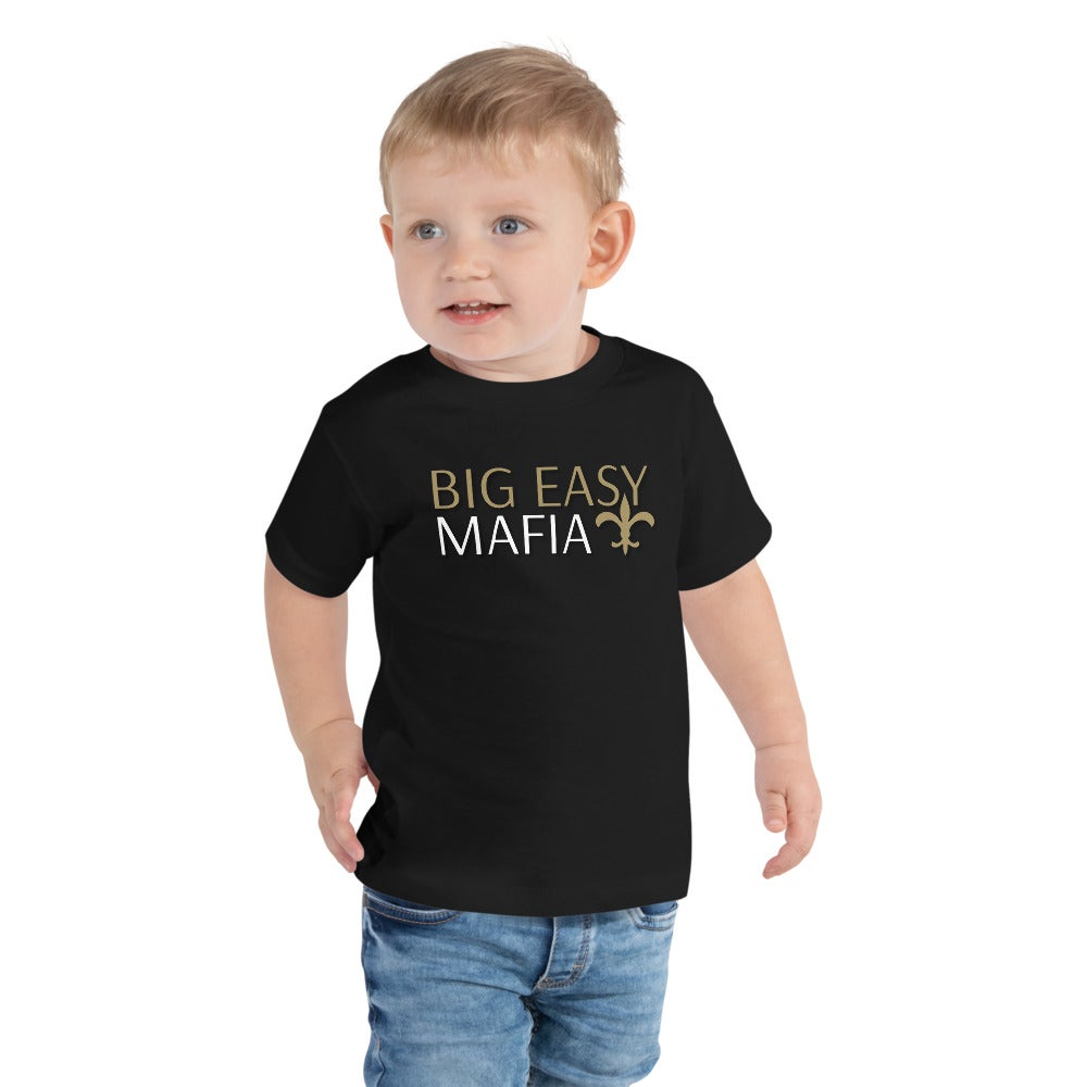 "Image of Toddler Short Sleeve ""Big Easy Mafia"" Tee"