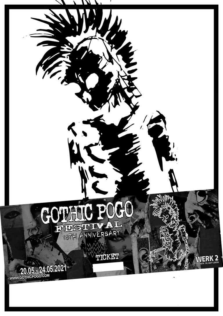 Image of Gothic Pogo Festival XV Ticket