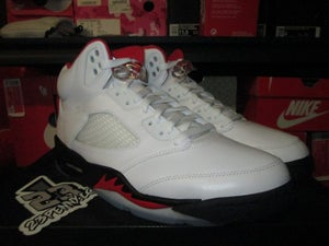 "Image of Air Jordan V (5) Retro OG ""Fire Red"" 2020"