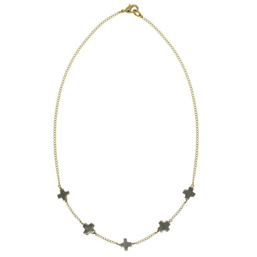 Image of + Pyrite Necklace