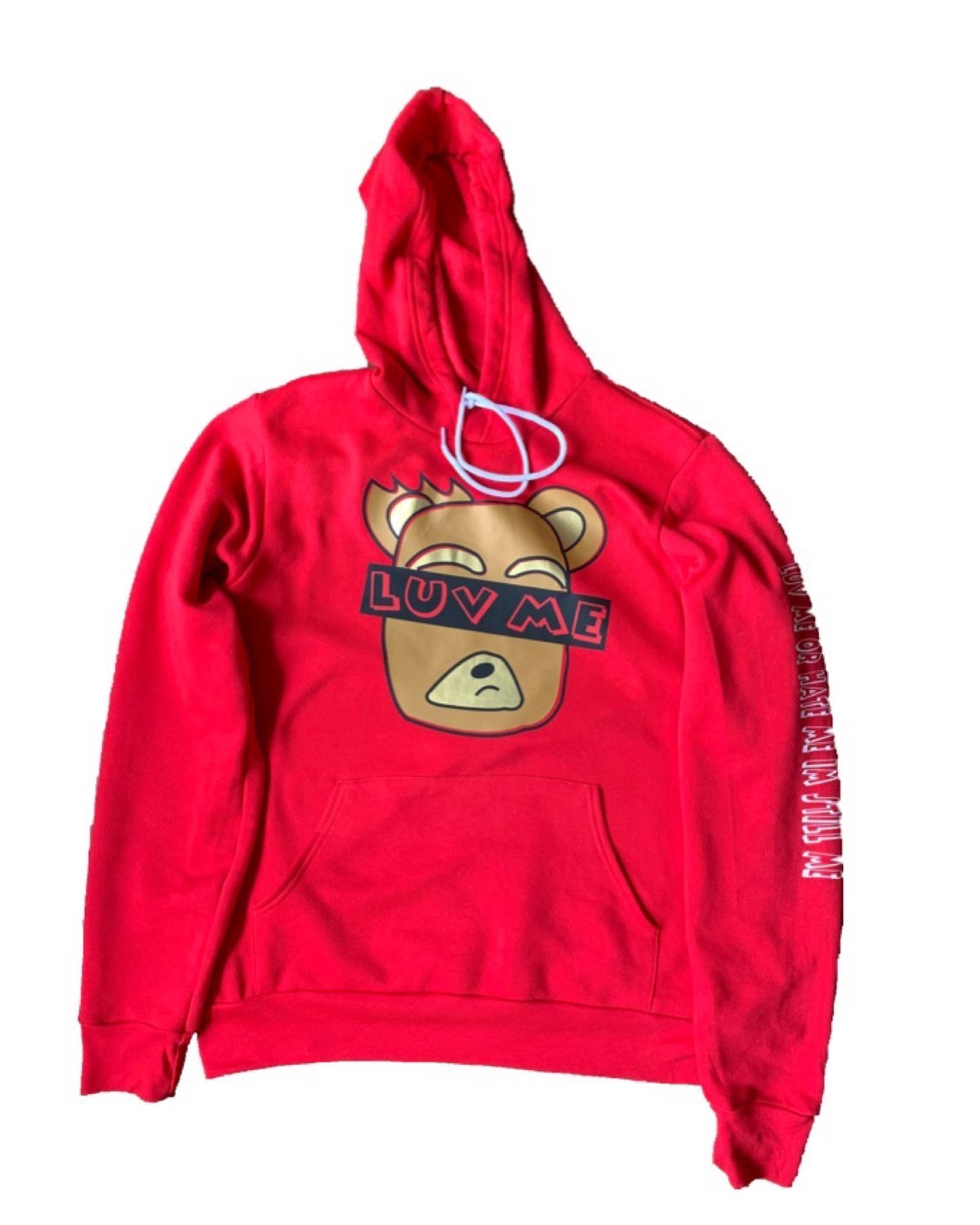 Image of 'Luv Me' | Red Hoodie