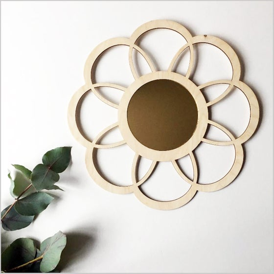 Image of Birch Flower Mirror