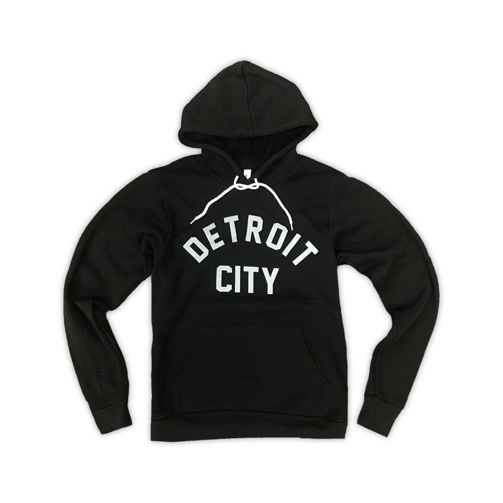 Image of Detroit City Hoodie (Black)