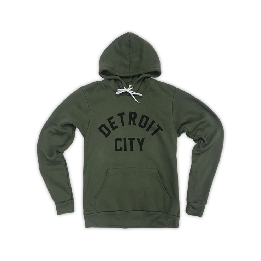 Image of Detroit City Hood (Military Green)