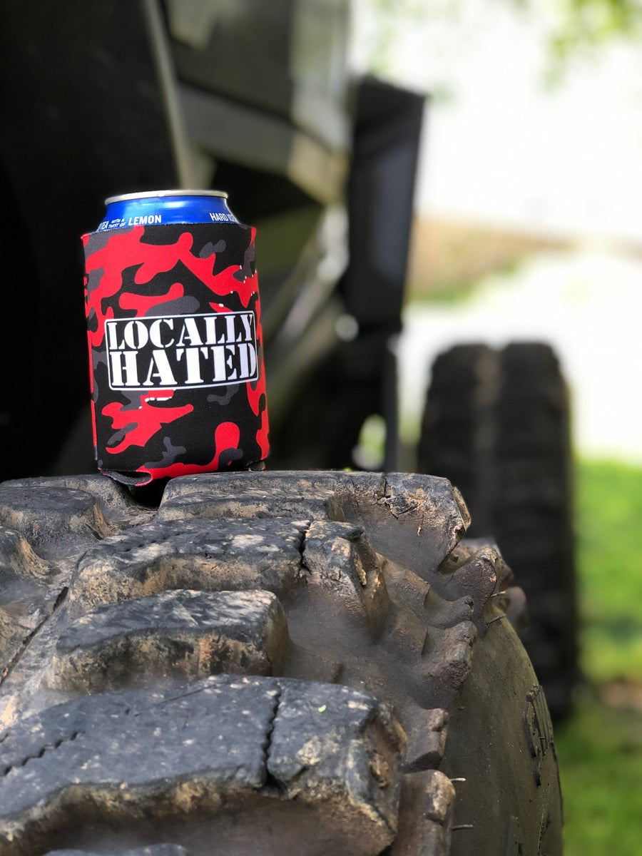 Image of Locally Hated koozie