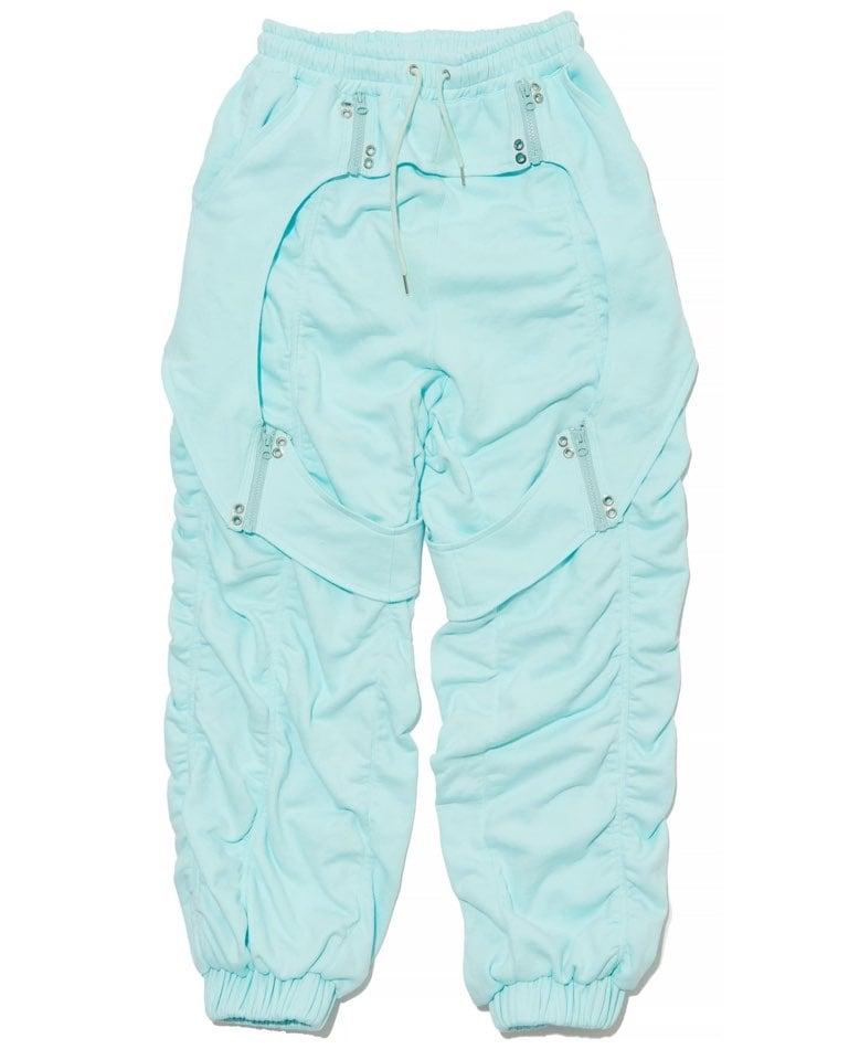 OCEAN BLUE SWEAT PANTS