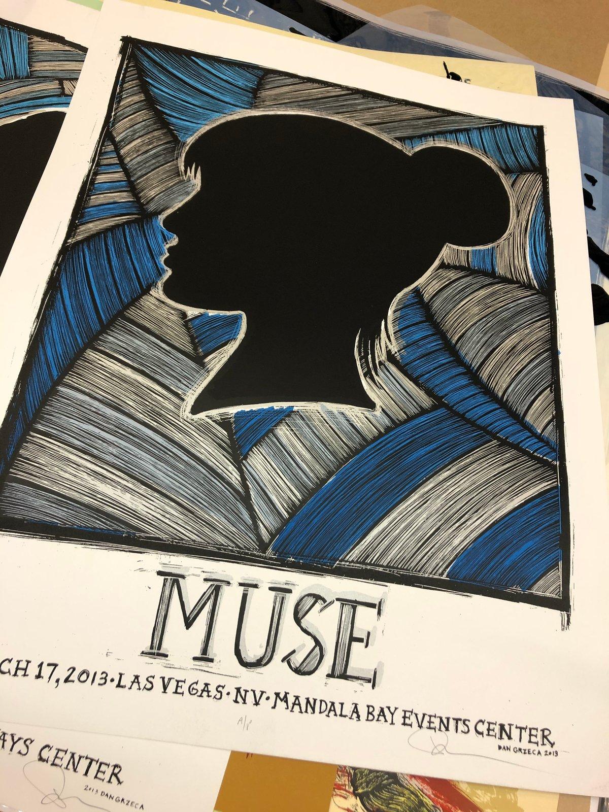 MUSE 2013 concert poster set