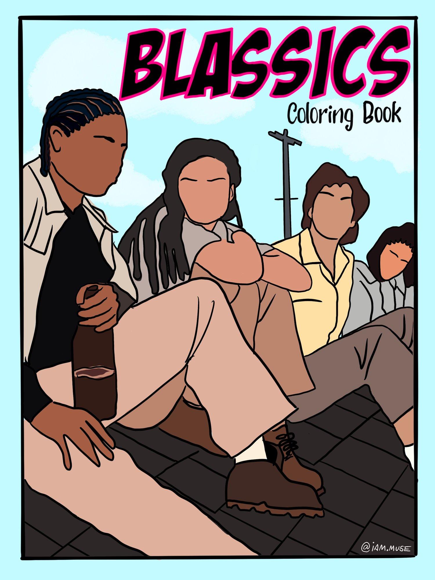 "Image of ""Blassics"" Coloring Book"
