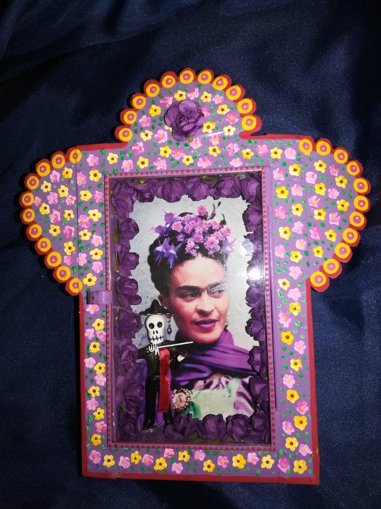 Image of Frida Kahlo nicho