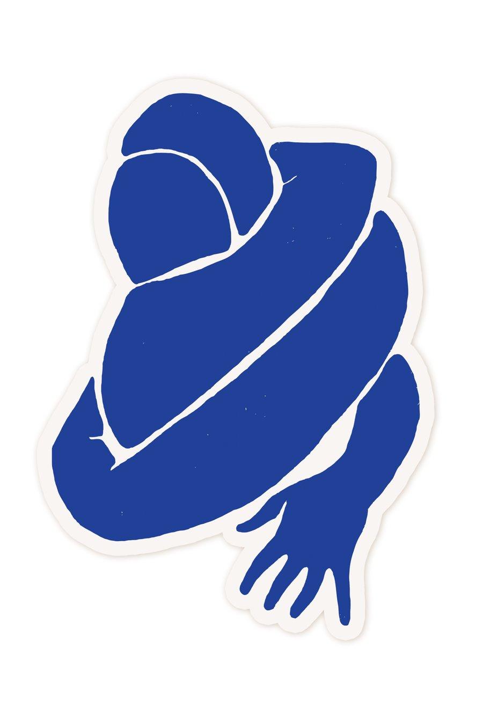 Image of Les amoureux sticker