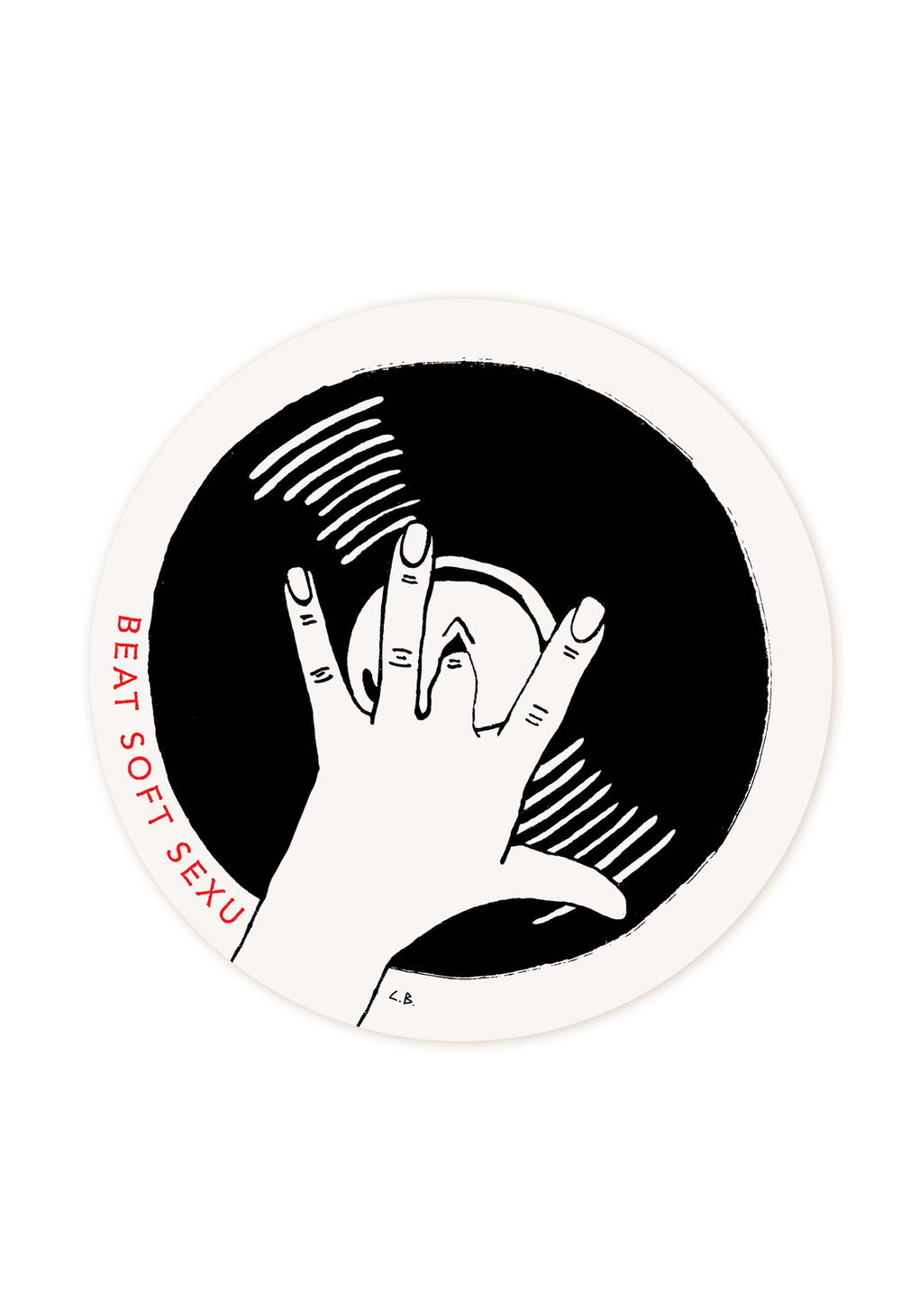 Image of Beat soft sexu Sticker