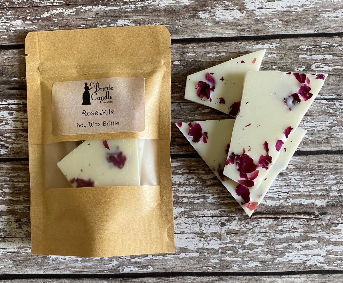 Image of Rose Milk Mini Soy Wax Brittle Bag