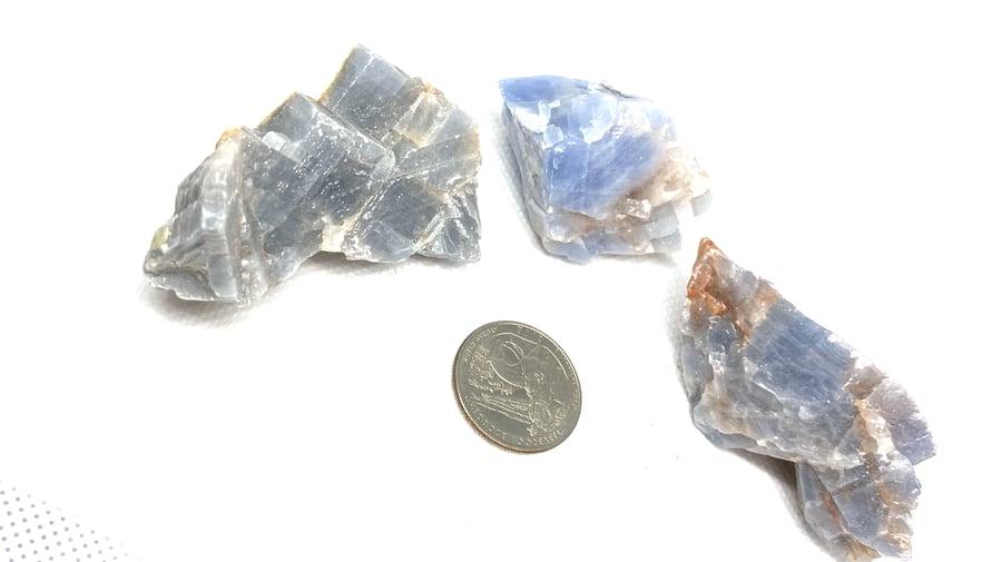 Image of Raw calcite (3pc)