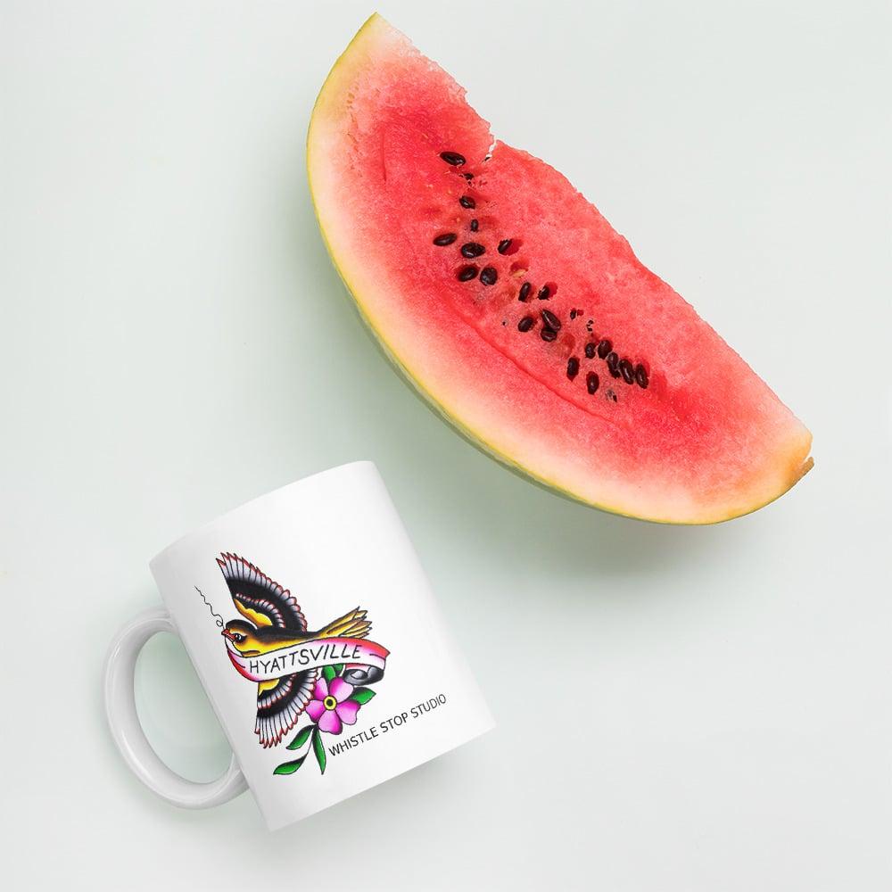 Mug featuring Shawn Brown's Hyattsville bird
