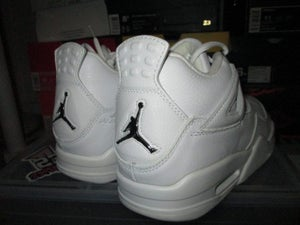 "Image of Air Jordan IV (4) Retro ""White/Bling"""