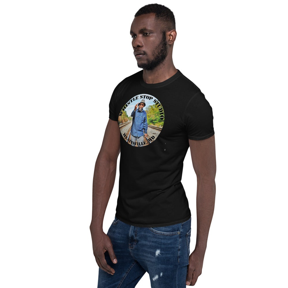 Greetings from the Rails Black T-shirt