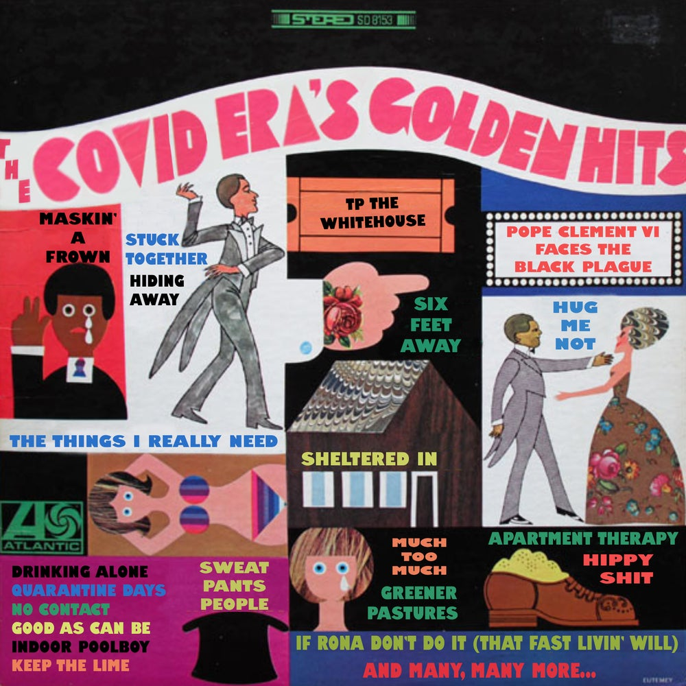 """""""Golden Sounds of COVID-19"""" Cassette by Various Artists"""