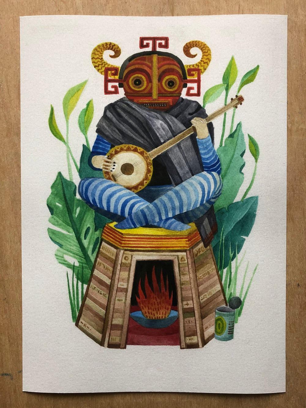 Keeper of the sacred fire  • print