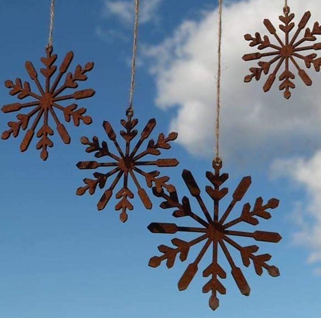 Rusty Snow Flakes
