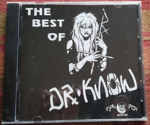 """Image of  Dr. Know – """"The Best Of"""" CD"""
