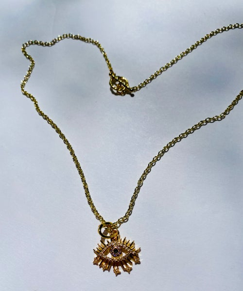 Image of I See U Necklace