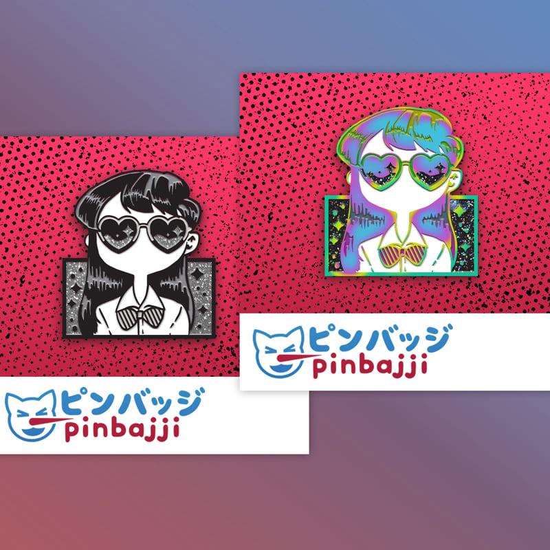 Image of Komi-San Is Kool Pin