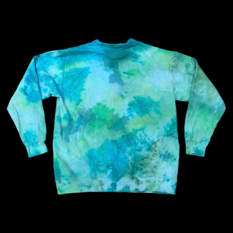 Custom Dyed Comfort Colors Crewneck Sweatshirts! - Green
