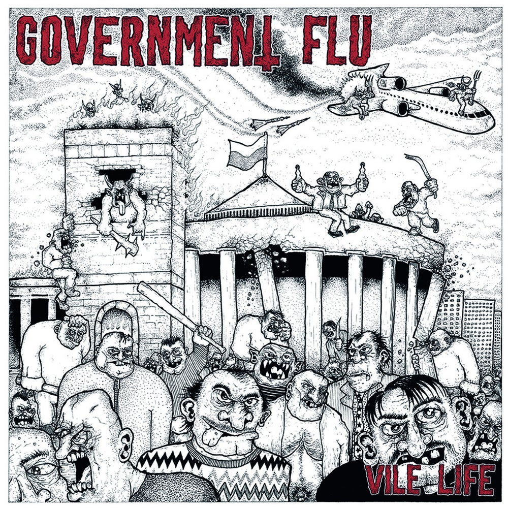 Government Flu - Vile Life 12""