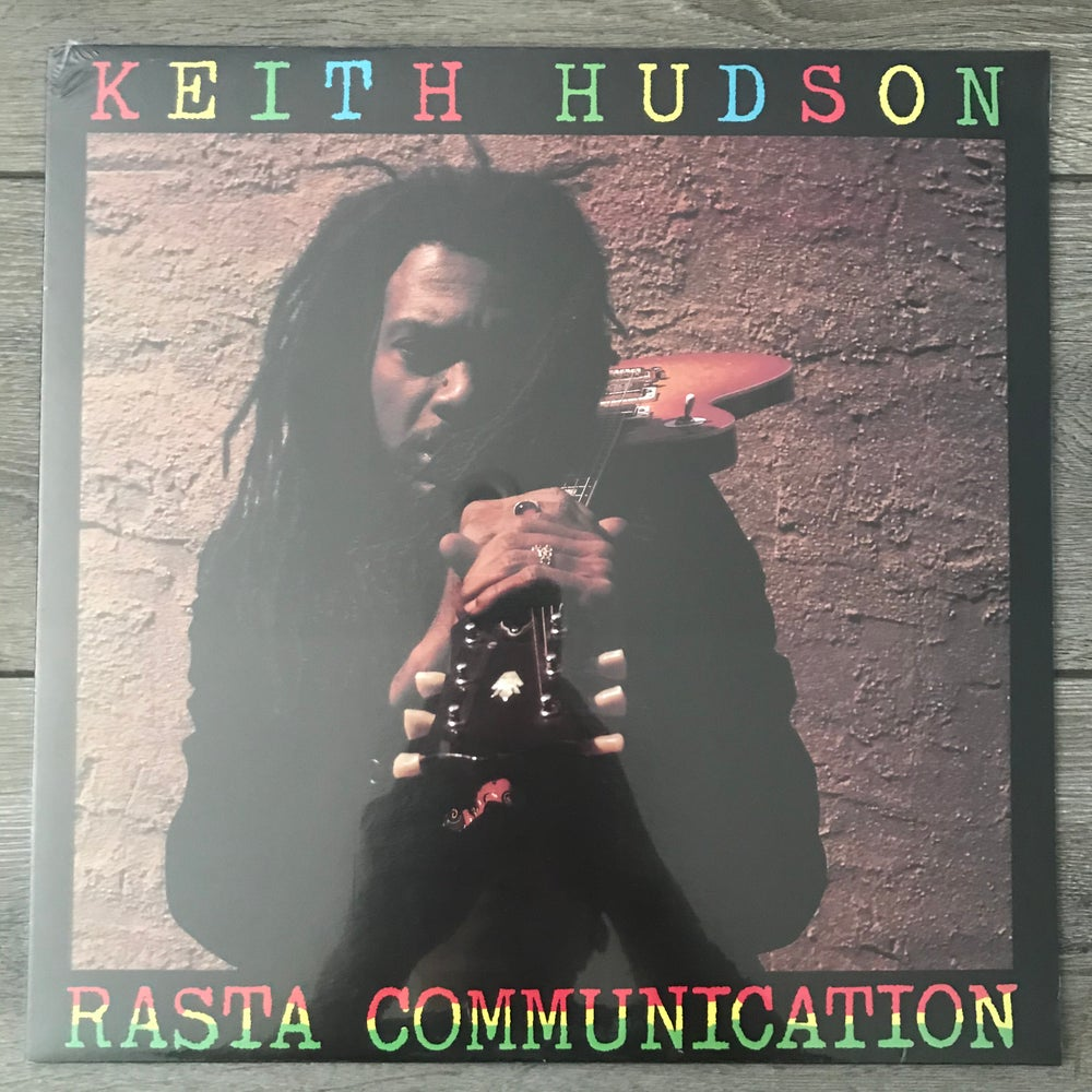 Image of Keith Hudson - Rasta Communication Vinyl LP