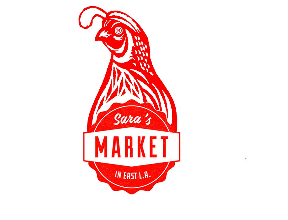 "Image of Sara's Market + Cafes Mundial ""Eastside Roast""-- 1/4 LB (4 oz) w/ Sticker & Pin Pack"