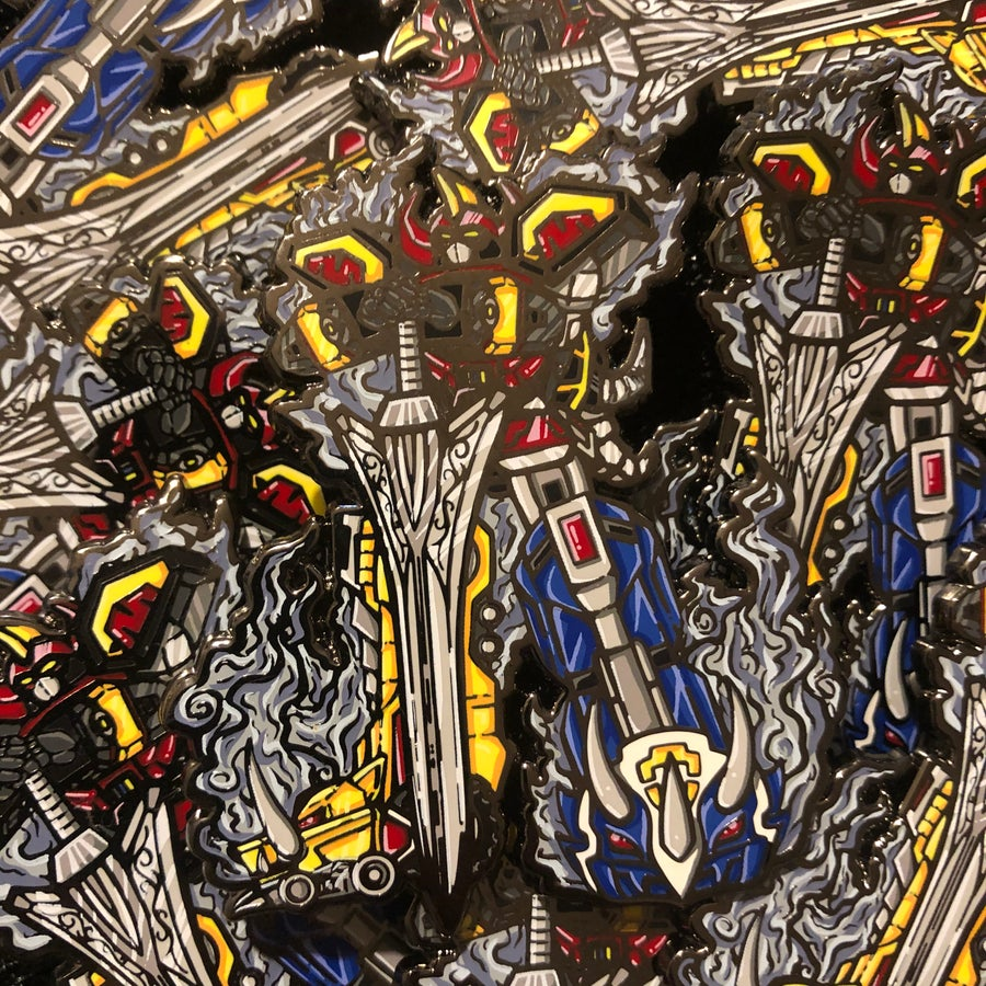 Image of Megazord (Hard Enamel Pin)