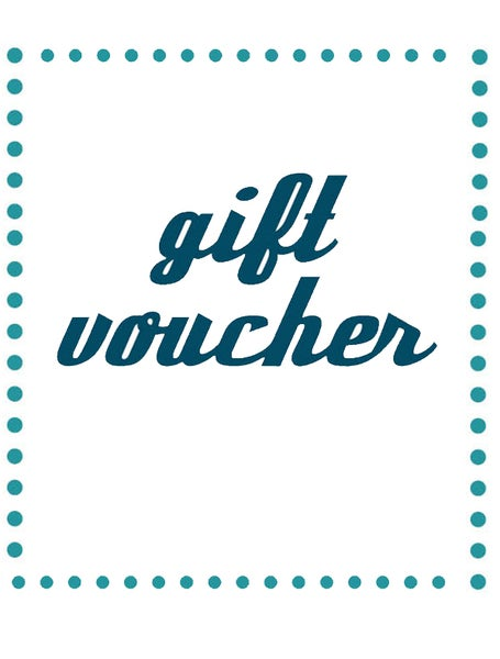 Image of gift voucher - price options