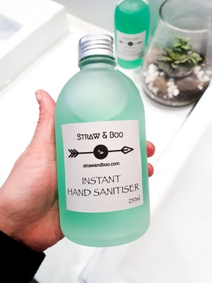 Image of Straw & Boo Hand Sanitiser