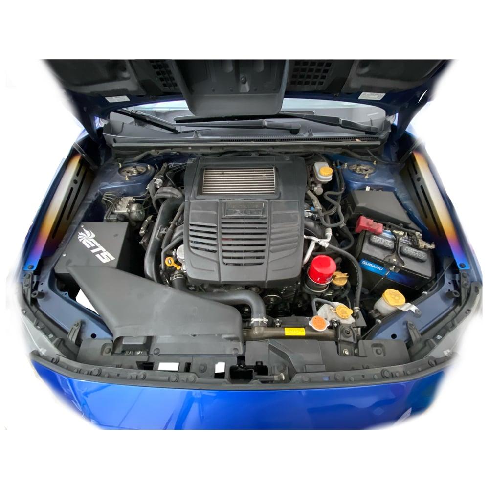 Image of 2015+ Subaru WRX/STI titanium fender shrouds