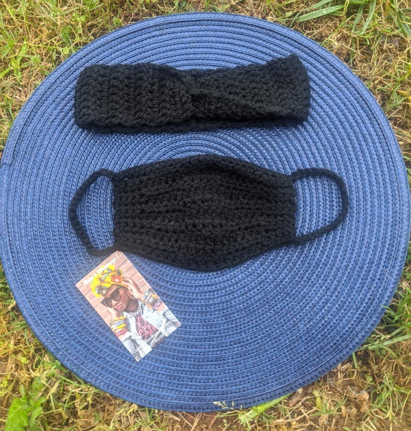 Image of *Matching Decorative Headband & Mask