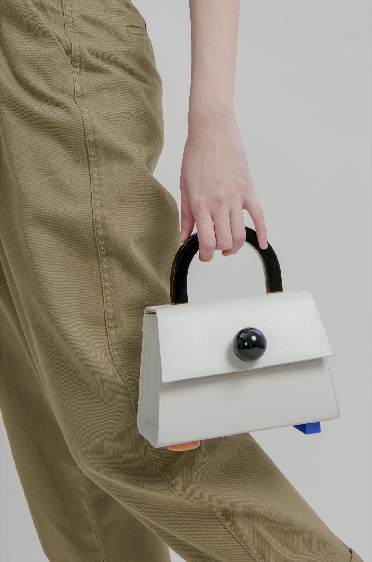 Image of Diva satchel bag • Beige with strap - Limited quantities