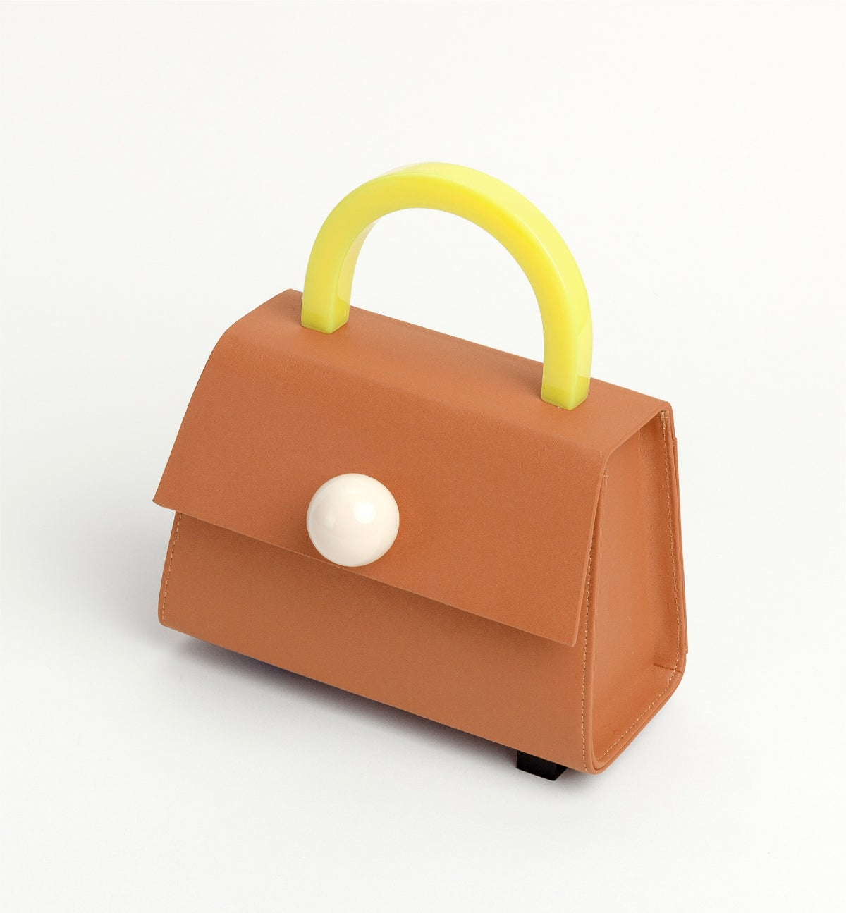 Image of Diva satchel bag • Camel with strap - Limited quantities