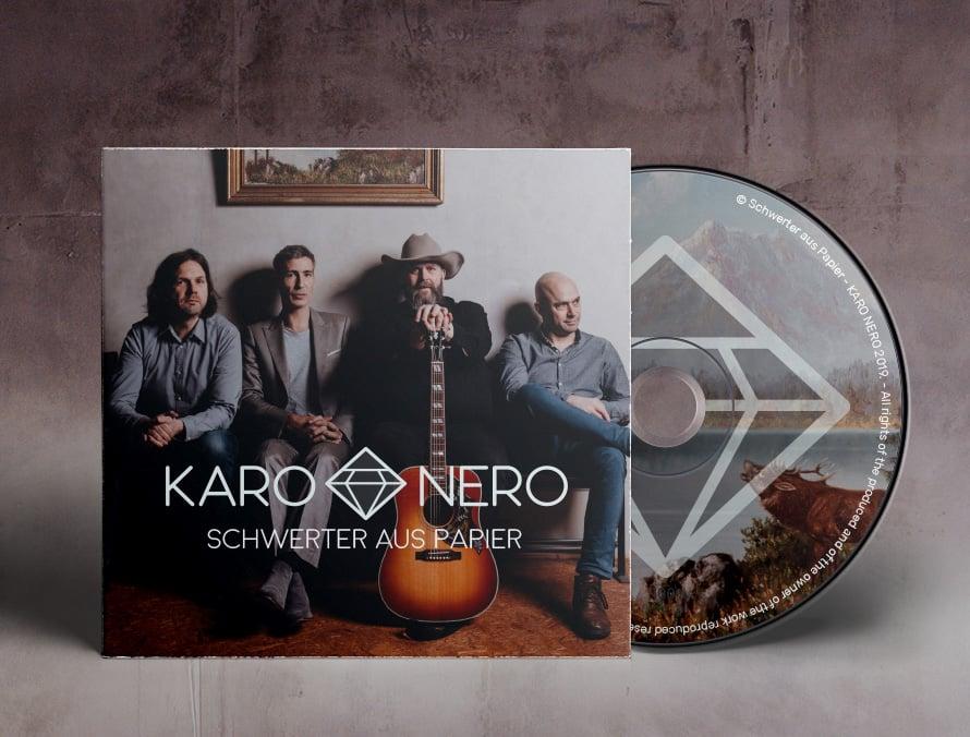 Image of KARO NERO - Schwerter aus Papier (CD)