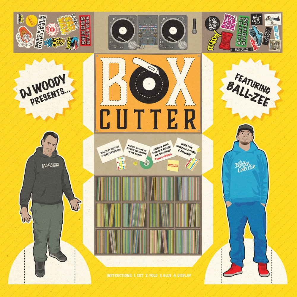 "12"" Vinyl - Box Cutter by DJ Woody feat. Ball-Zee"